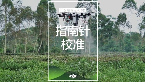 DJI大疆T16教学视频——指南针校准