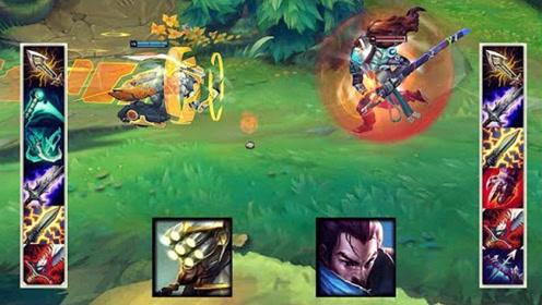 LOL 六神装剑圣 vs 六神装亚索,结局坑爹,难以置
