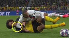 内马尔踢球太嘚瑟:与维特塞尔互搞,最后用进球回敬