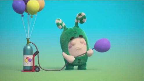 奇宝萌兵:淘气的Pogo在街边卖气球