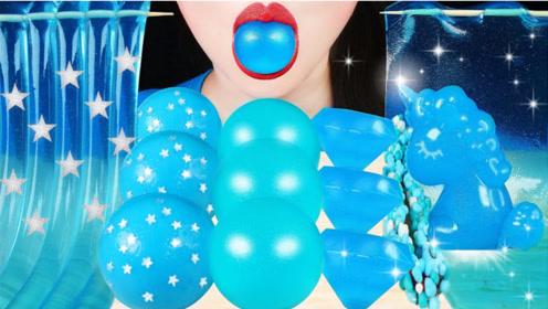 清新淡雅的蓝色美食好适合夏天,一口下去超惊艳,这是什么神仙生活?