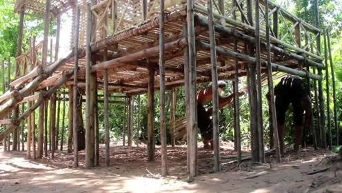 如何用竹木建造最美的两层别墅
