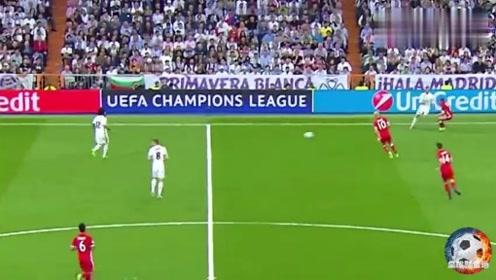 欧冠经典之皇马vs拜仁,C罗前期的发挥不利,到最终的征服球迷