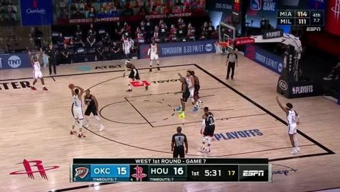 瑞思拜!保罗抢七战19分10篮板12助攻精彩集锦