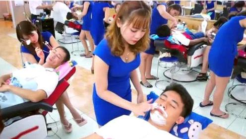 一次80元的越南理发店,为何中国小伙赞不绝口?体验后才明白原因