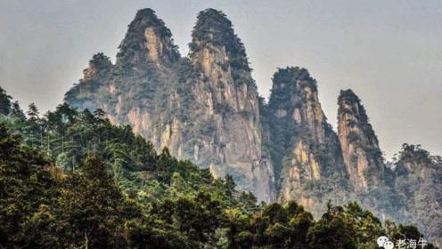 """湖南有处景区,有""""小黄山""""之称,磅礴大气以雄伟壮观著称"""