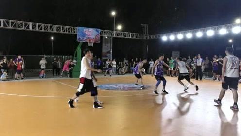 街头3对3篮球对抗赛精彩继续,发扬更快更高更强的体育品质