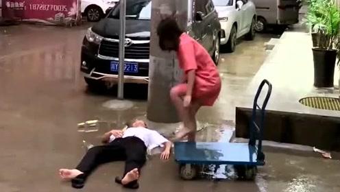 这就是所谓的好兄弟聚会,最后收拾烂摊子的还是自己的老婆,太难了!