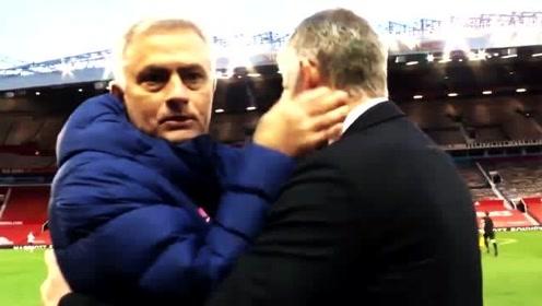 英超曼联负热刺赛后索尔斯克亚是什么表情?穆里尼奥扬眉吐气冷酷到底!