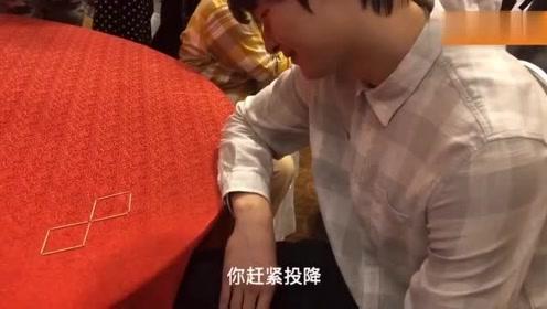 CBA全明星周末:王哲林挑战牙签游戏