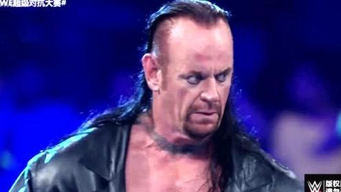 WWE:2019超级对抗大赛战神高柏VS送葬者