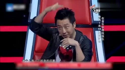 中国好声音:本以为是深情女嗓,结果竟唱起了爵士!哈林坐不住了!