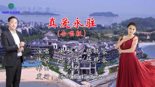 新歌快递:原创音乐人陈晓容、徐龙杰10月新歌-真爱永驻 好听极了!