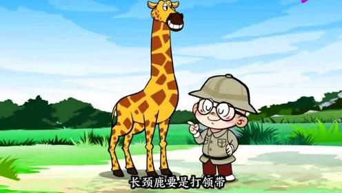 搞笑动画:你知道长颈鹿的烦恼吗?你品,你细