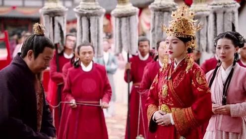 《燕云台》萧燕燕大婚,背景音乐,听得起鸡皮疙瘩
