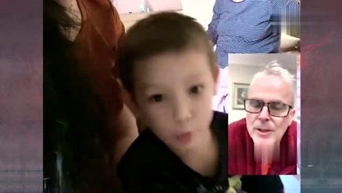 小金毛和皮特视频通话,眼前看到的画面,真是太萌太可爱了吧