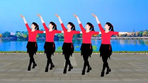 热门广场舞《酒醉的蝴蝶》一支美美的32步,轻松又快乐,分享给你