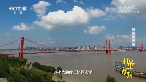 三塔悬索桥的修建,中塔最关键,我国专家竟有重大创新