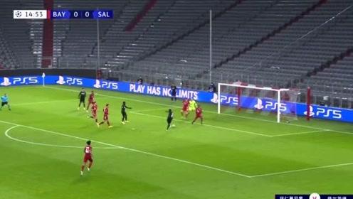 【欧冠】莱万破门科曼造乌龙,拜仁3-1萨尔茨堡头名出线