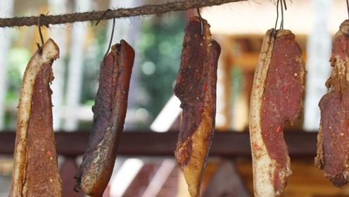 四川人腌腊肉为什么好吃?我来告诉你,3种香料就够,肥而不腻