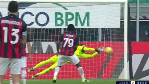 【意甲】AC米兰2:0佛罗伦萨 凯西传射+失点罗马尼奥利破门!