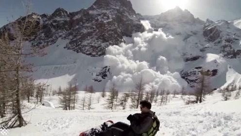 登山遇雪崩,最后一段视频曝光
