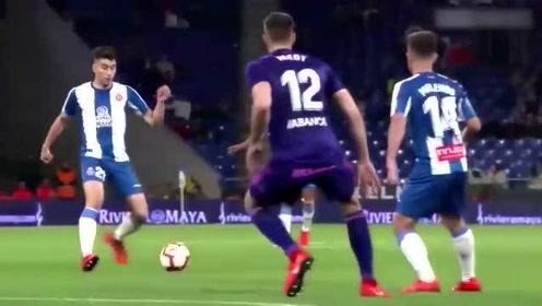 回顾:上赛季武磊西甲全进球记录,跑位世界级射门得分已有球王风范