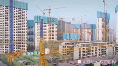 航拍福建漳州,这建筑直逼二线城市,发展速度太快了!