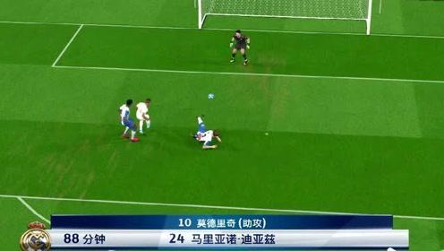 实况足球:欧冠半决赛首回合皇家马德里2比0西班牙人