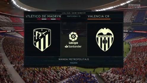 西甲:马德里竞技4-1瓦伦西亚,苏亚雷斯破门,菲利克斯双响