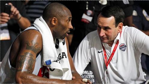 K教練:詹姆斯在08奧運上不滿科比出手,我硬起頭皮去勸了科比
