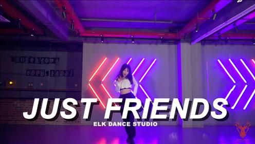 热门神曲Just Friends基础爵士编舞舞蹈翻跳 Ari编舞