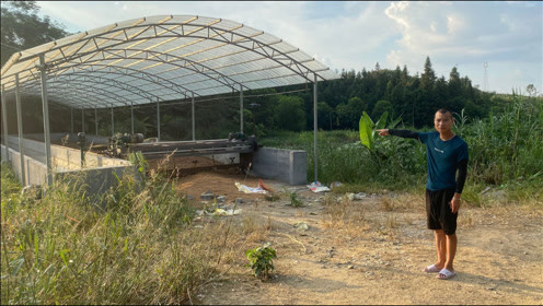 农村一种新型暴利加工行业,老乡利用0.5亩荒地