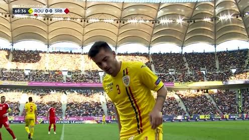 【原声】欧洲国家联赛C4组第4轮:罗马尼亚vs塞尔维亚 下半场