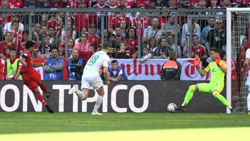 【战报】拜仁1-0不莱梅继续领跑积分榜 聚勒世界波救主