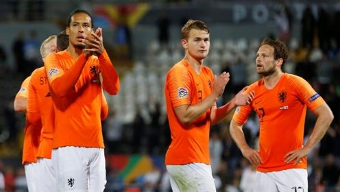 【集锦】荷兰3-1逆转英格兰 拉什福德点射德里赫特进球