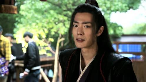 Behind the scenes: The sniffing Wei Wuxian didn't see Lan Wangji's many expressions for a day | The Untamed Special Edition