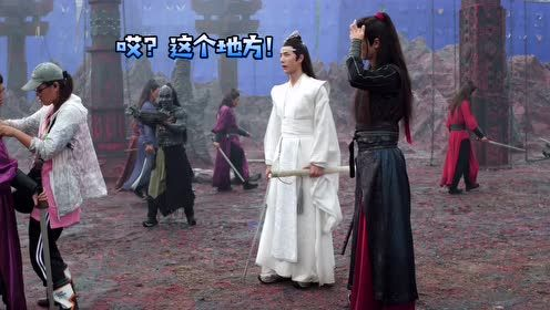 Behind the scenes Ver.1: Fighting in BuYeTian | A Little Thing Called The Untamed