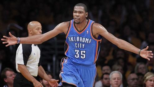 史上最强超级变向 NBA官方精选杜兰特生涯TOP30进球(30-21)