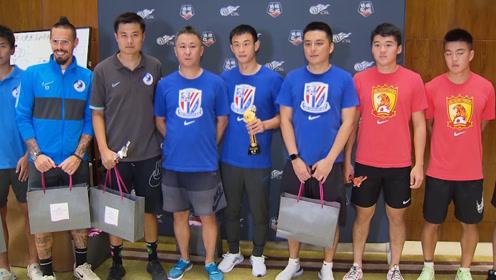中超大连赛区乒乓球大赛申花夺得冠军 哈姆西克决赛惜败