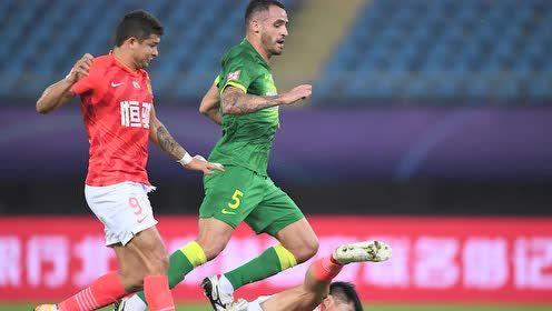 【战报】两队四次中柱国安0-0闷平广州恒大 次回合决定决赛席位