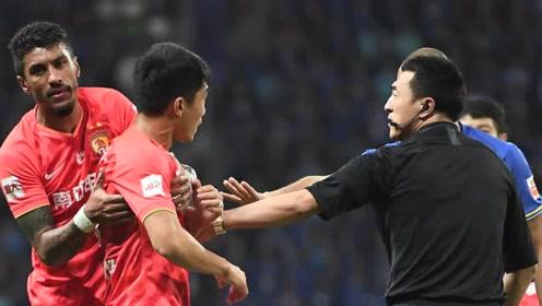 【战报】江苏苏宁0-0广州恒大 双方场面火爆郑智半场伤退