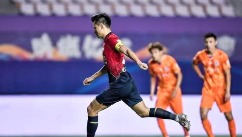 【战报】鲁能2-1深足终结四轮不胜 佩莱传射郜林点射
