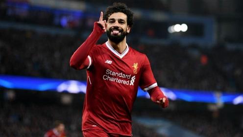 记录粉碎机萨拉赫!埃及球王利物浦三年成球队绝对头牌