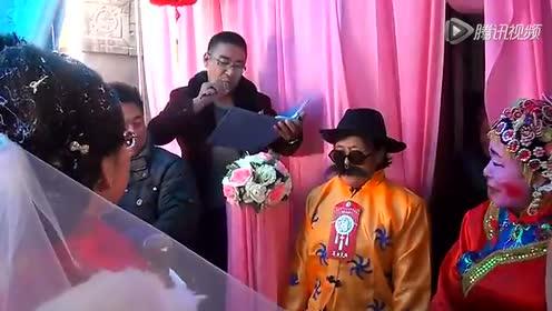 会宁乡村结婚视频 记录他们的新婚时光