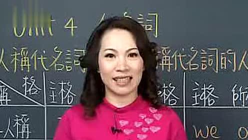 谢孟媛初级文法视频教程-英语提高_第4集