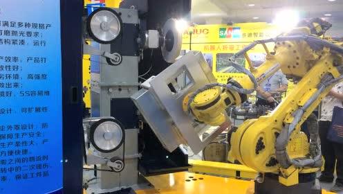 博顿工业机器人打磨抛光机器人工作站