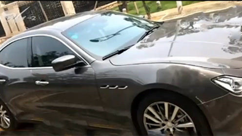 女子107万买玛莎拉蒂汽车商卖旧车赔付三倍