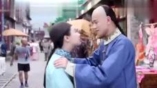 《龙珠传奇》花絮 杨紫对着正在演戏的秦俊杰狂做鬼脸