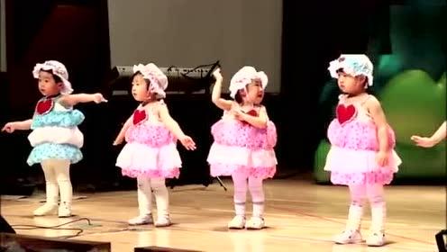 幼儿园宝宝边哭边跳舞 萌翻了!